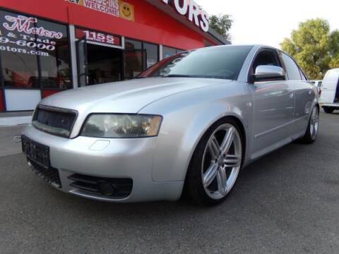 2005 Audi S4 for sale at Phantom Motors in Livermore CA
