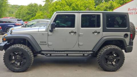 2014 Jeep Wrangler Unlimited for sale at Buddy's Auto Inc in Pendleton SC