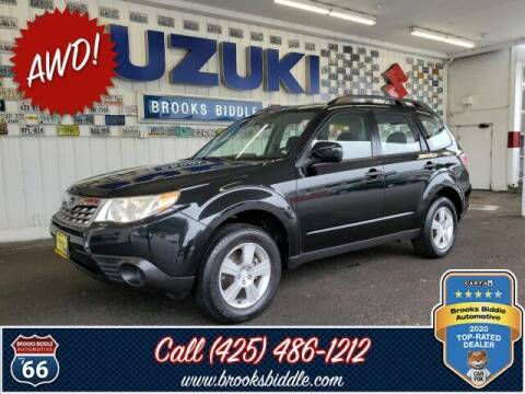 2011 Subaru Forester for sale at BROOKS BIDDLE AUTOMOTIVE in Bothell WA