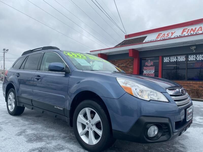 2013 Subaru Outback for sale at Premium Motors in Louisville KY