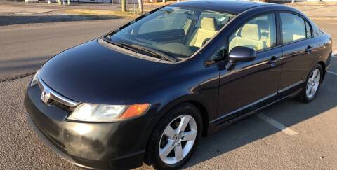 2006 Honda Civic for sale at Diana Rico LLC in Dalton GA