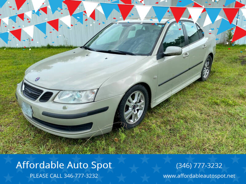 2006 Saab 9-3 for sale at Affordable Auto Spot in Houston TX