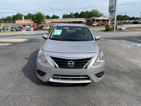2018 Nissan Versa for sale at LOS PAISANOS AUTO & TRUCK SALES LLC in Peachtree Corners GA