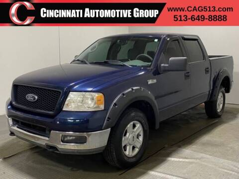 2004 Ford F-150 for sale at Cincinnati Automotive Group in Lebanon OH