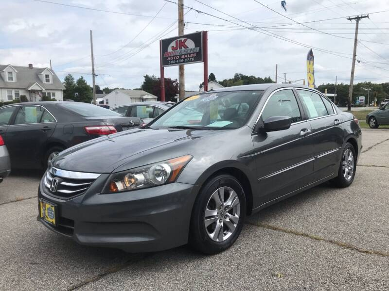 2012 Honda Accord for sale at JK & Sons Auto Sales in Westport MA