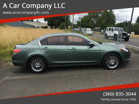 2009 Honda Accord for sale at A Car Company LLC in Washougal WA