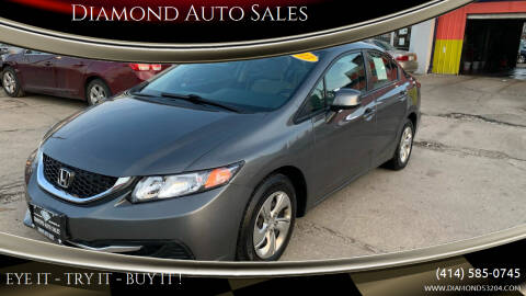 2013 Honda Civic for sale at Diamond Auto Sales in Milwaukee WI