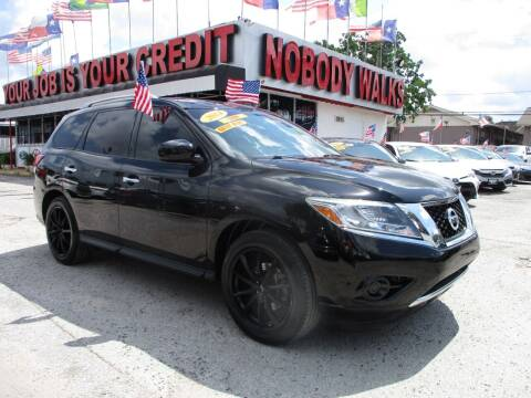 2014 Nissan Pathfinder for sale at Giant Auto Mart 2 in Houston TX