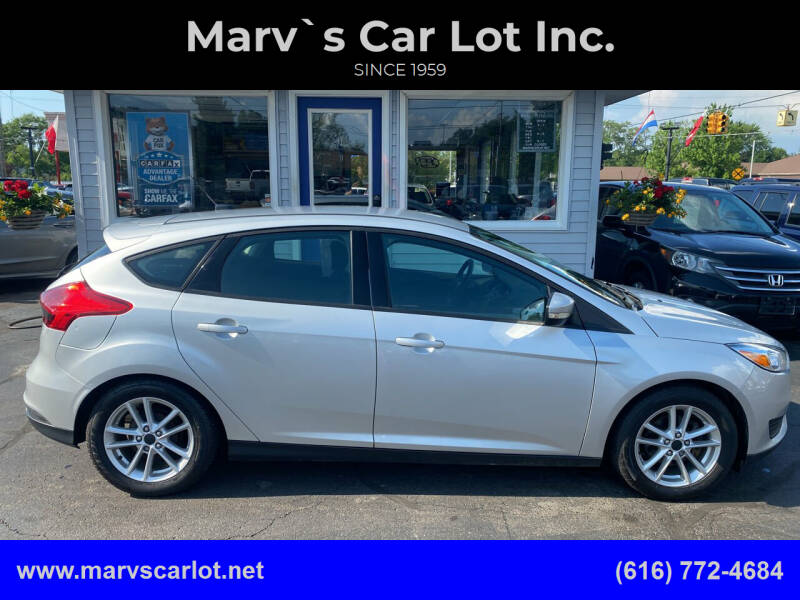 2015 Ford Focus for sale at Marv`s Car Lot Inc. in Zeeland MI