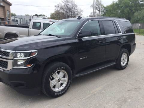 2015 Chevrolet Tahoe for sale at Sanders Auto Sales in Lincoln NE