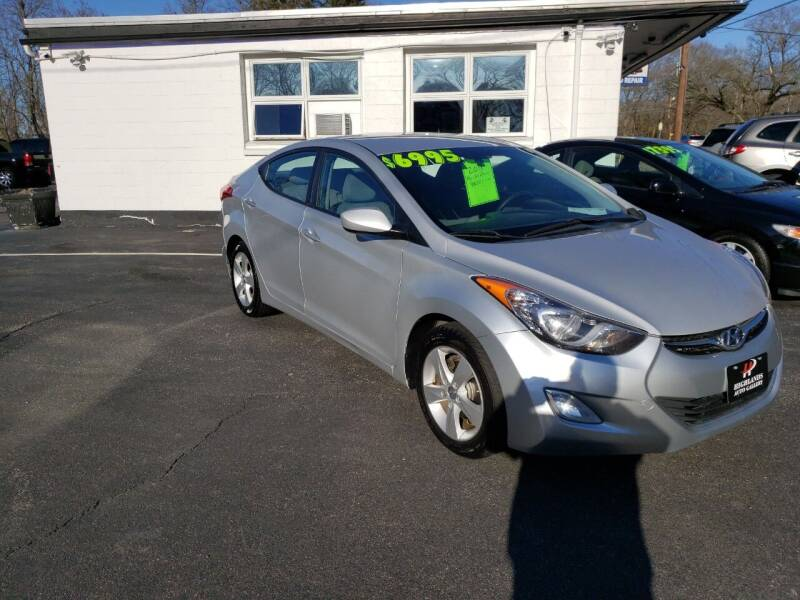 2012 Hyundai Elantra for sale at Highlands Auto Gallery in Braintree MA