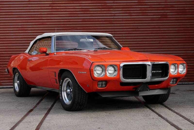 1969 Pontiac Firebird 350 for sale at Sierra Classics & Imports in Reno NV