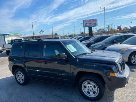 2015 Jeep Patriot for sale at Jamrock Auto Sales of Panama City in Panama City FL
