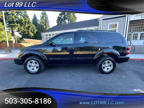 2005 Dodge Durango for sale at LOT 99 LLC in Milwaukie OR