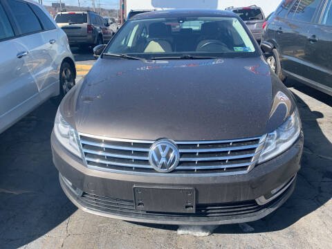 2014 Volkswagen CC for sale at JORDAN AUTO SALES in Youngstown OH