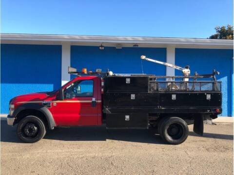 2009 Ford F-550 Super Duty for sale at Khodas Cars in Gilroy CA