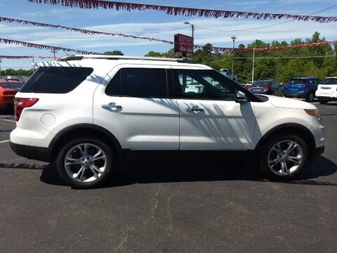 2014 Ford Explorer for sale at Kenny's Auto Sales Inc. in Lowell NC