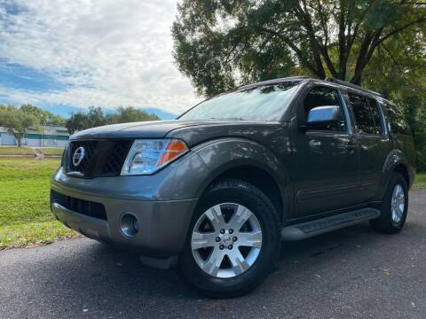 2007 Nissan Pathfinder for sale at Powerhouse Automotive in Tampa FL