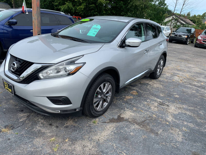2015 Nissan Murano for sale at PAPERLAND MOTORS - Fresh Inventory in Green Bay WI