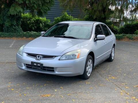2005 Honda Accord for sale at Q Motors in Tacoma WA