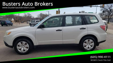 2010 Subaru Forester for sale at Busters Auto Brokers in Mitchell SD
