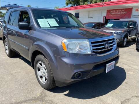2014 Honda Pilot for sale at Dealers Choice Inc in Farmersville CA