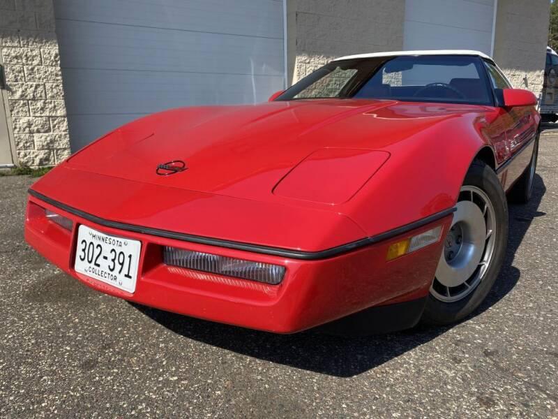 1987 Chevrolet Corvette for sale at Route 65 Sales & Classics LLC - Classic Cars in Ham Lake MN