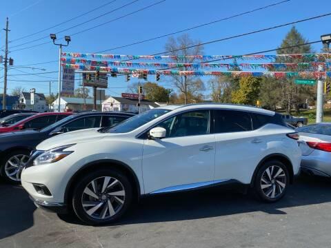 2015 Nissan Murano for sale at WOLF'S ELITE AUTOS in Wilmington DE