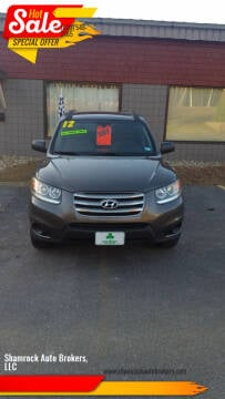 2012 Hyundai Santa Fe for sale at Shamrock Auto Brokers, LLC in Belmont NH