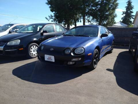 1996 Toyota Celica for sale at M AND S CAR SALES LLC in Independence OR