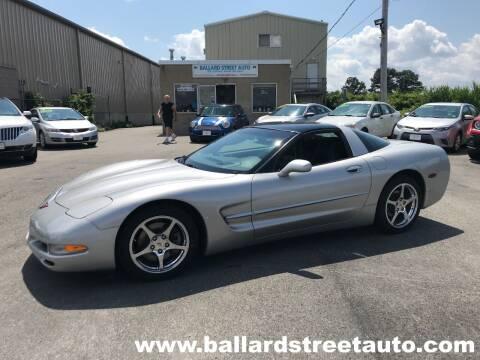 2004 Chevrolet Corvette for sale at Ballard Street Auto in Saugus MA