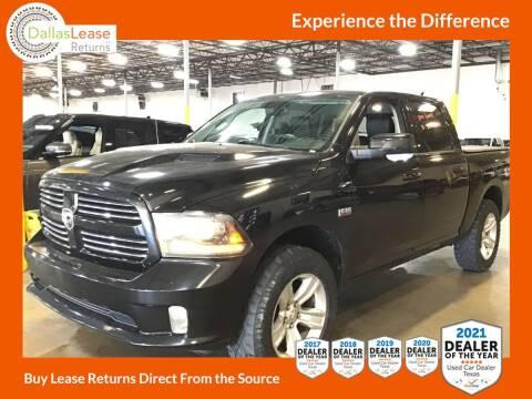 2013 RAM Ram Pickup 1500 for sale at Dallas Auto Finance in Dallas TX
