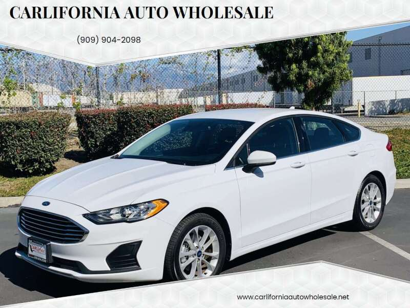 2019 Ford Fusion for sale at CARLIFORNIA AUTO WHOLESALE in San Bernardino CA