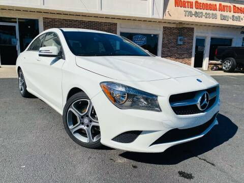 2014 Mercedes-Benz CLA for sale at North Georgia Auto Brokers in Snellville GA