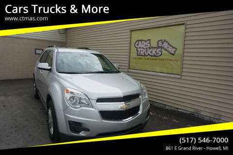 2015 Chevrolet Equinox for sale at Cars Trucks & More in Howell MI