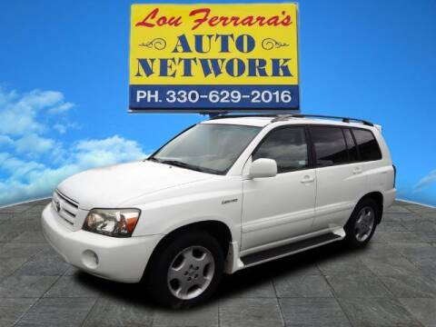2004 Toyota Highlander for sale at Lou Ferraras Auto Network in Youngstown OH
