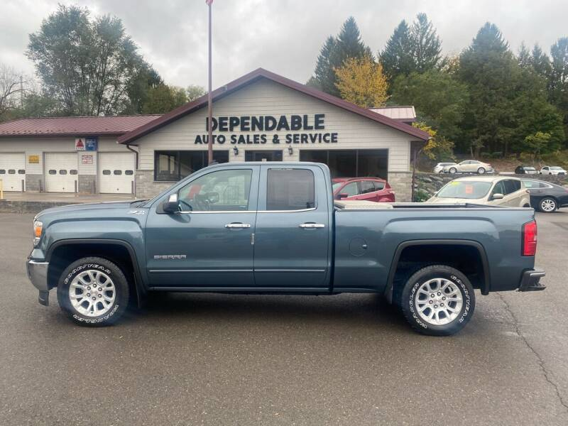 2014 GMC Sierra 1500 for sale at Dependable Auto Sales and Service in Binghamton NY
