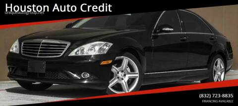 2007 Mercedes-Benz S-Class for sale at Houston Auto Credit in Houston TX
