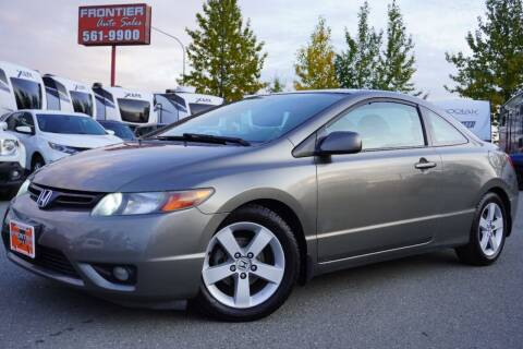 2007 Honda Civic for sale at Frontier Auto & RV Sales in Anchorage AK