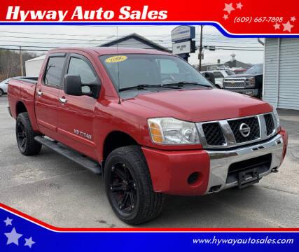 2006 Nissan Titan for sale at Hyway Auto Sales in Lumberton NJ