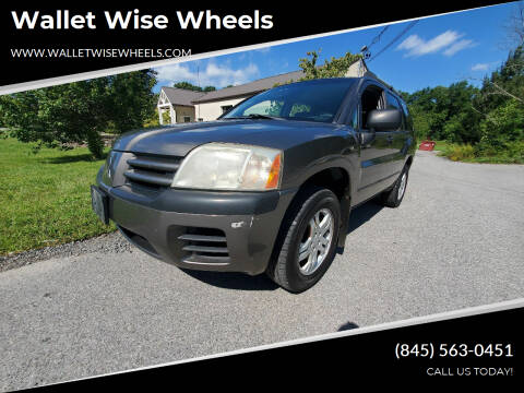 2005 Mitsubishi Endeavor for sale at Wallet Wise Wheels in Montgomery NY