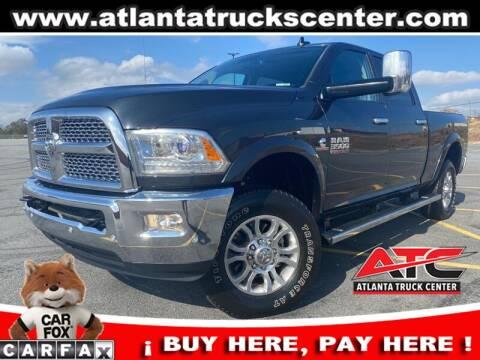 2016 RAM Ram Pickup 3500 for sale at ATLANTA TRUCK CENTER LLC in Brookhaven GA