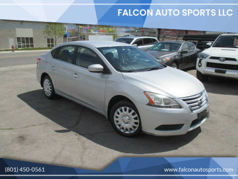 2013 Nissan Sentra for sale at Falcon Auto Sports LLC in Murray UT