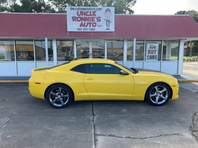 2013 Chevrolet Camaro for sale at Uncle Ronnie's Auto LLC in Houma LA