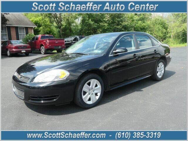 2011 Chevrolet Impala for sale at Scott Schaeffer Auto Center in Birdsboro PA