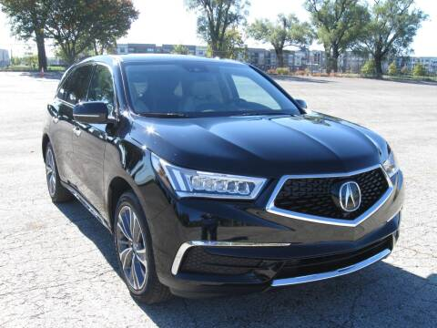 2019 Acura MDX for sale at Burhill Leasing Corp. in Dayton OH