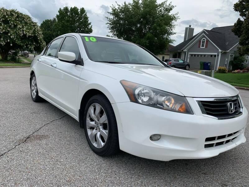 2010 Honda Accord for sale at TOLBERT AUTOMOTIVE, LLC in Harvest AL