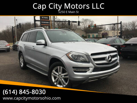 2013 Mercedes-Benz GL-Class for sale at Cap City Motors LLC in Columbus OH