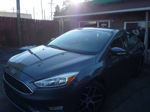 2015 Ford Focus for sale at Sindibad Auto Sale, LLC in Englewood CO
