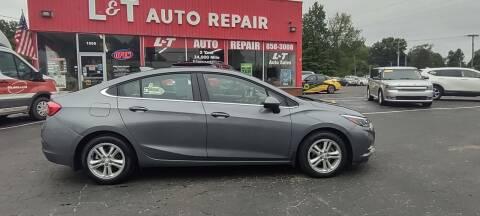 2018 Chevrolet Cruze for sale at L&T Auto Sales in Three Rivers MI